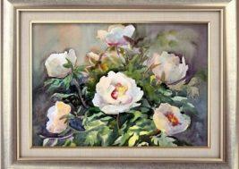 Картина на стекле Цветы