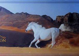 картина на стекле Конь