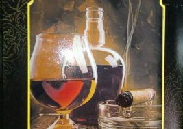 Картина на стекле Коньяк
