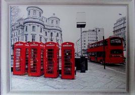 Картина на стекле Лондон