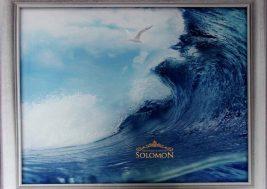 Картина на стекле Море и чайка