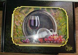 Картина на стекле Виноградник